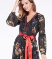 Embellished maxi dress Niza with embroidery