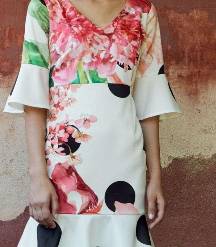Midi dress Almatrichi Paloma