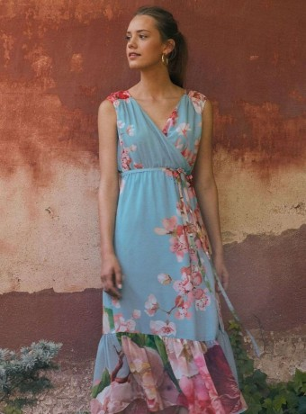 Maxi dress Almatrichi cendrine