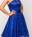 Midi dress Luisa jaro electric blue