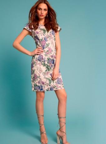 Print midi dress Madelaine