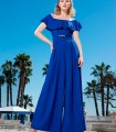 Jumpsuit Sonia Peña with boat neck