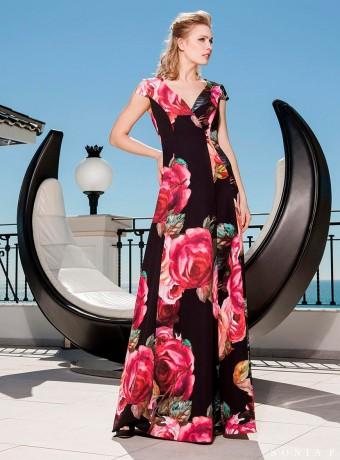 Vestido Sonia peña estampado de flores