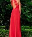 Vestido largo espalda semidescubierta Olimara