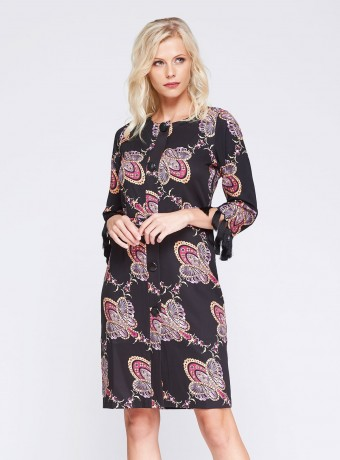buttoned front dress
