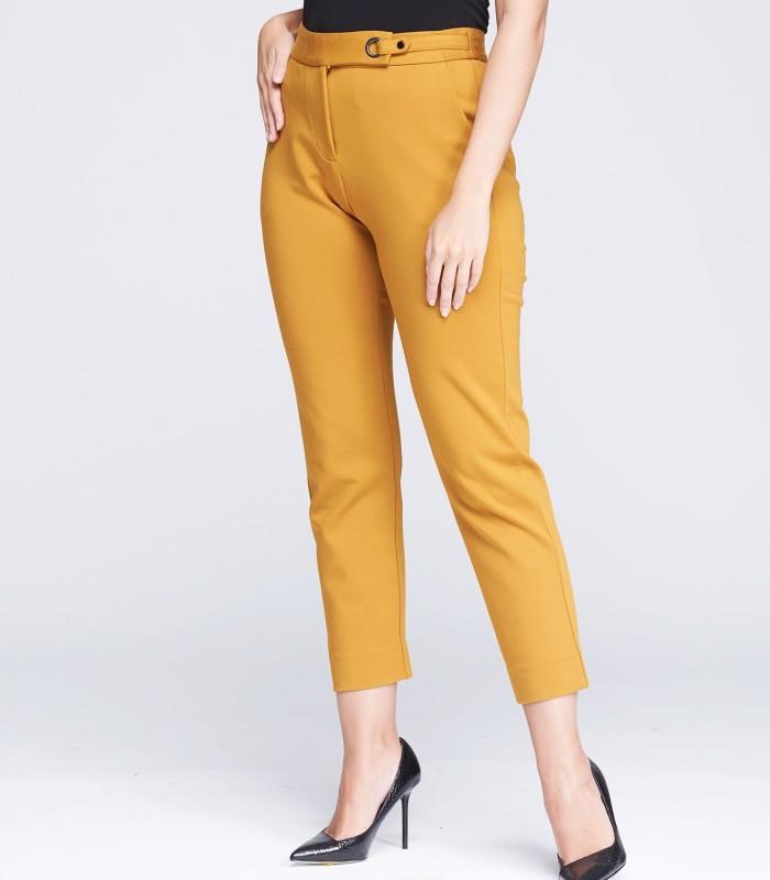 Pantalón skinny de tiro alto tobillero
