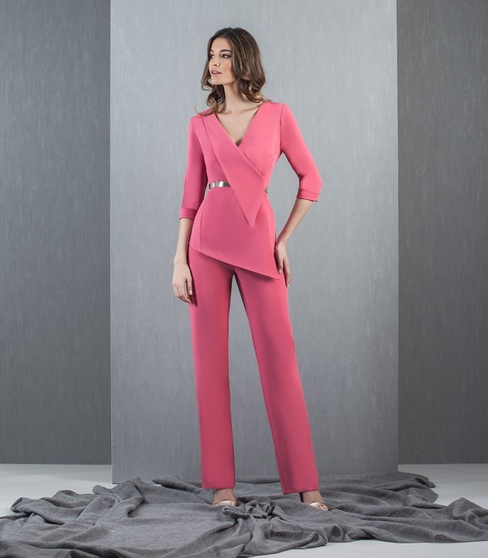 Pink French Sleeve Set