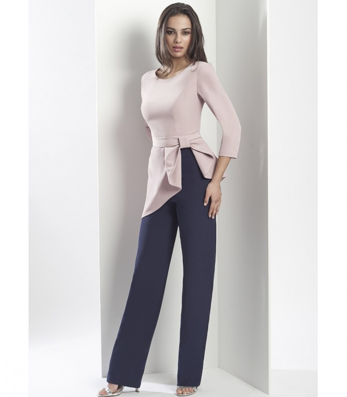 French sleeve top and pants set