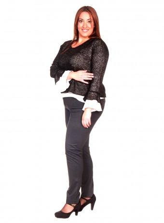 Pantalón gris tachuela