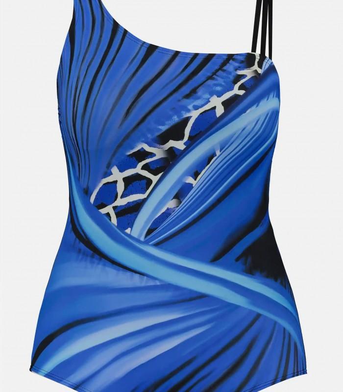 Bañador azul y negro