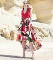 Vestido estampado floral  Sonia peña