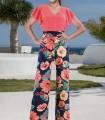 Pantalón Olimara estampado floral