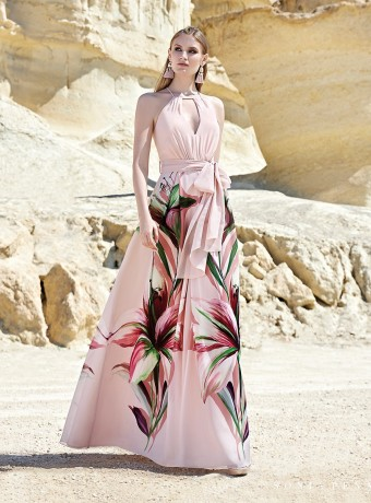 Printed midi dress Arggido