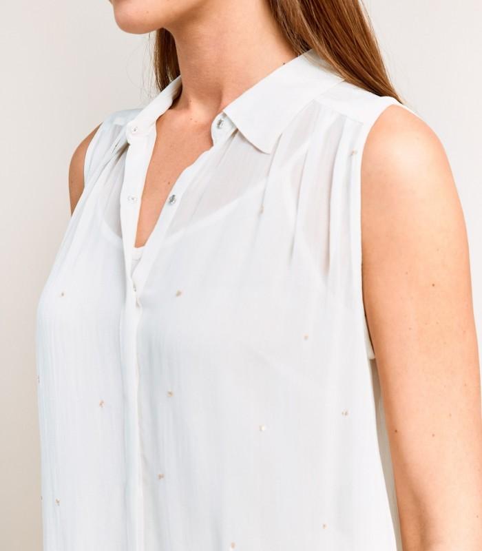 Camisa sin mangas con pequeños detalles