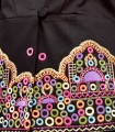 Jacket with embroidered details and cut at the waist
