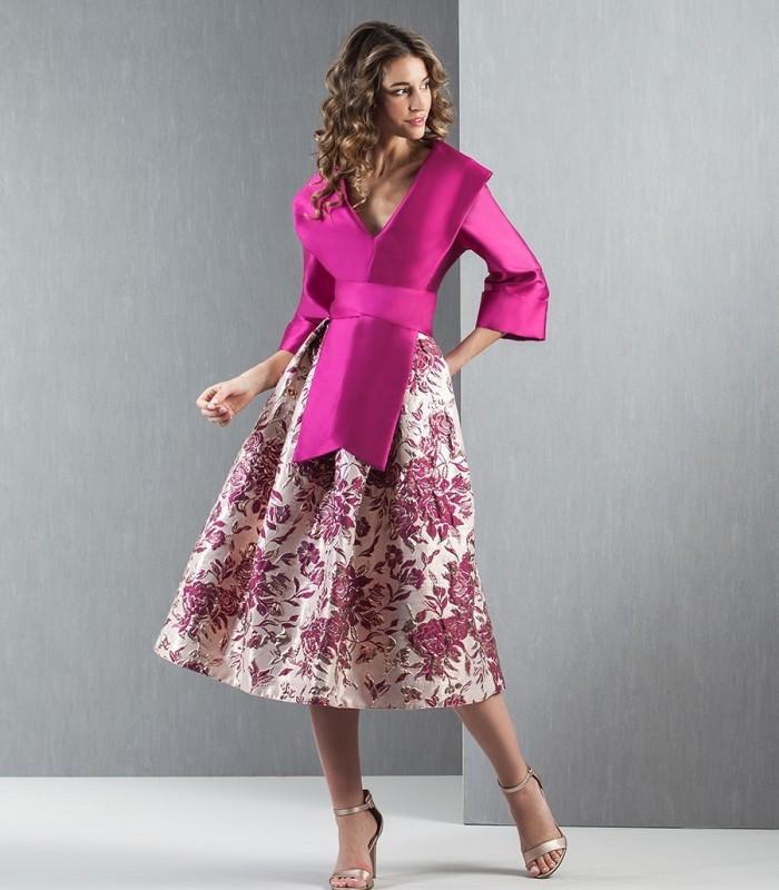 Moncho jacquard skirt set
