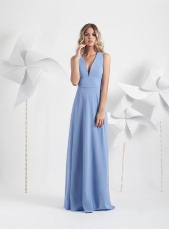 Long plain dress Petit Moncho