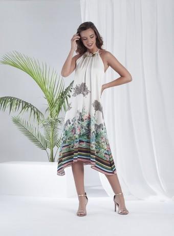 Halter Free Fall Dress