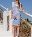 OLIMARA short light dress