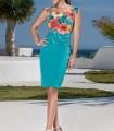 Smooth straight skirt