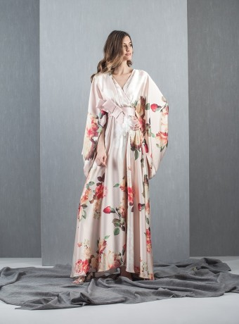 Kimono long dress