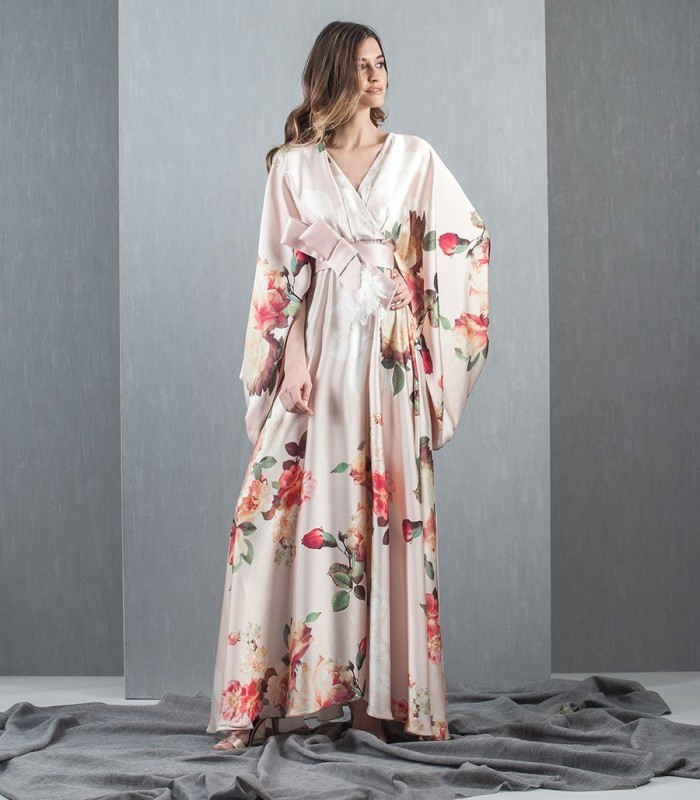 Vestido largo Kimono