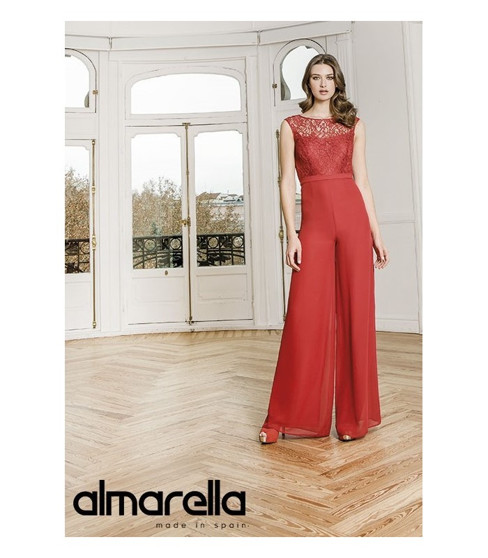 Almarella set top and lace top with palazzo pants