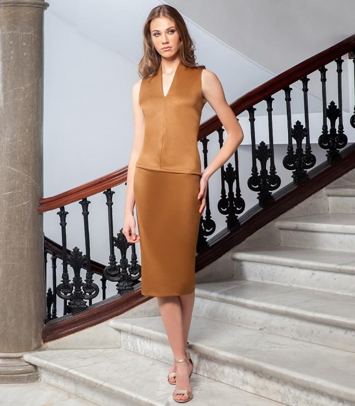 Neojackar short straight skirt