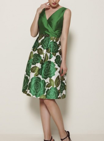 Vestido Olimara verde