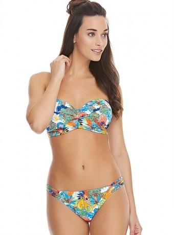 Top bikini Island Girl Tropical Bandeau Bikini