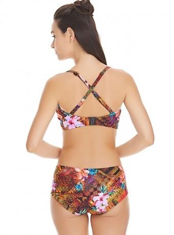 Top Bikini safari beach Bandeau