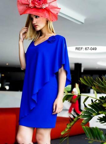 Vestido Azul capa creasur