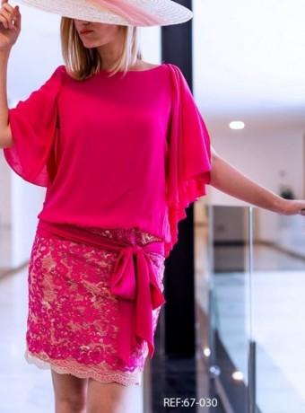 Vestido falda encaje Creasur
