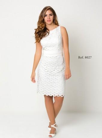 Vestido resto blanco