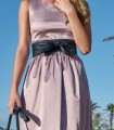 Pink stick dress Simoneta
