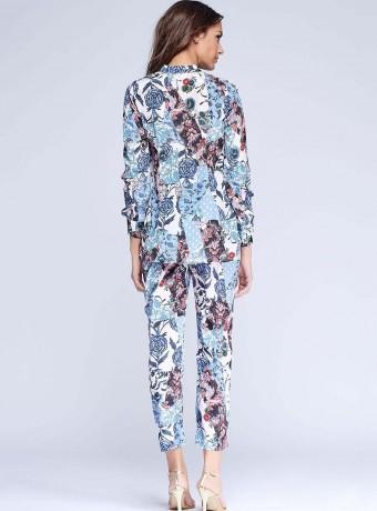 Blusa Niza estampado floral manga larga